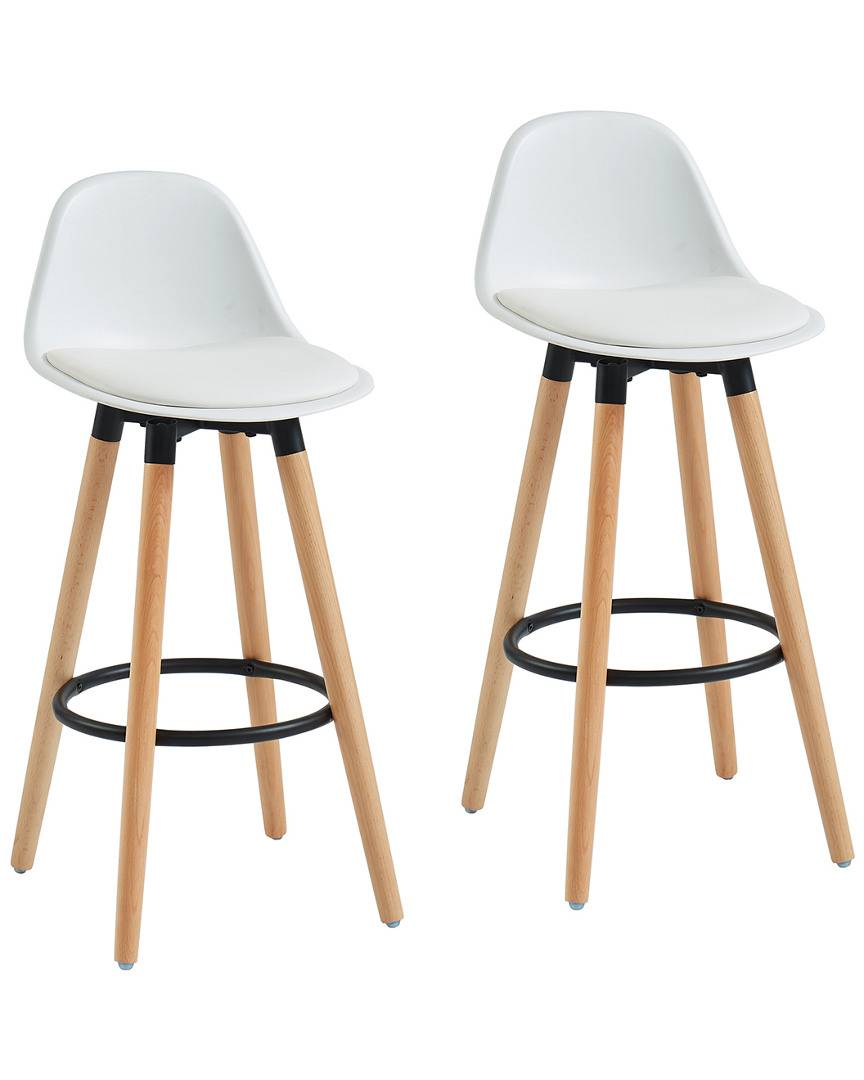 Worldwide Home Furnishings Set of 2  Diablo 26in Counter Stools - Size: 26