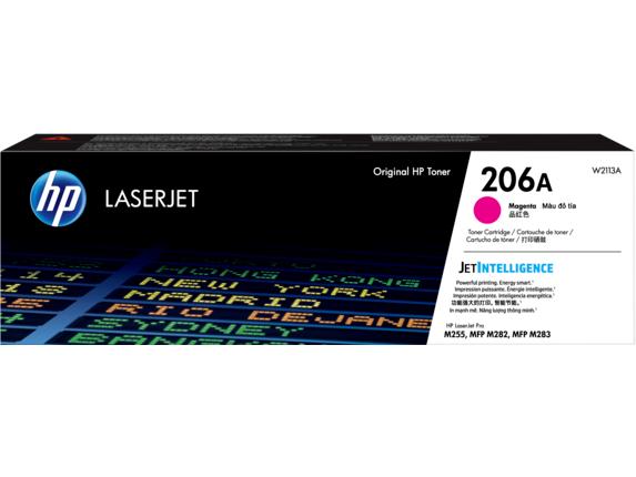 206A Magenta Original LaserJet Toner Cartridge, W2113A -