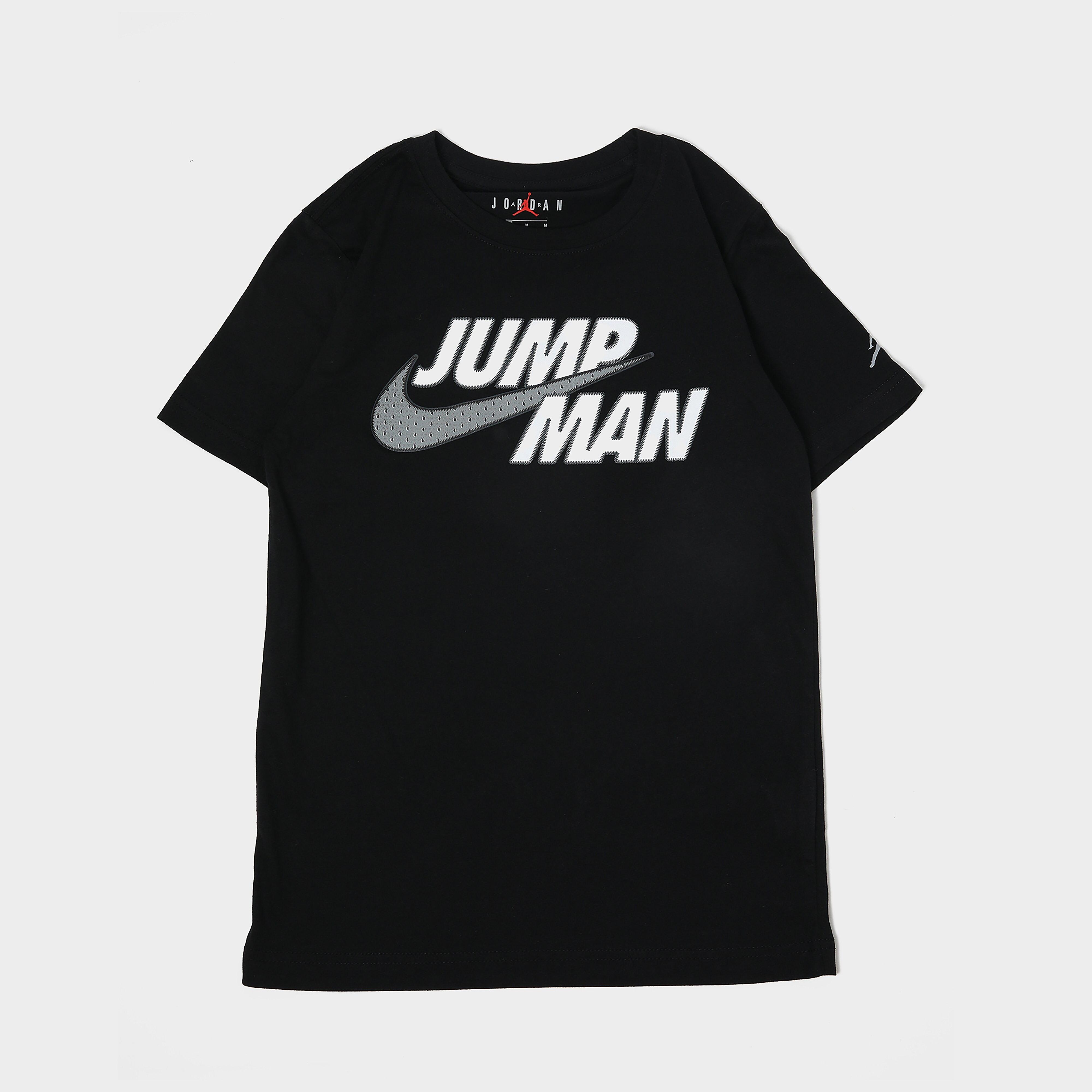 Jordan Jumpman Strong T-Shirt - Kids - BLACK