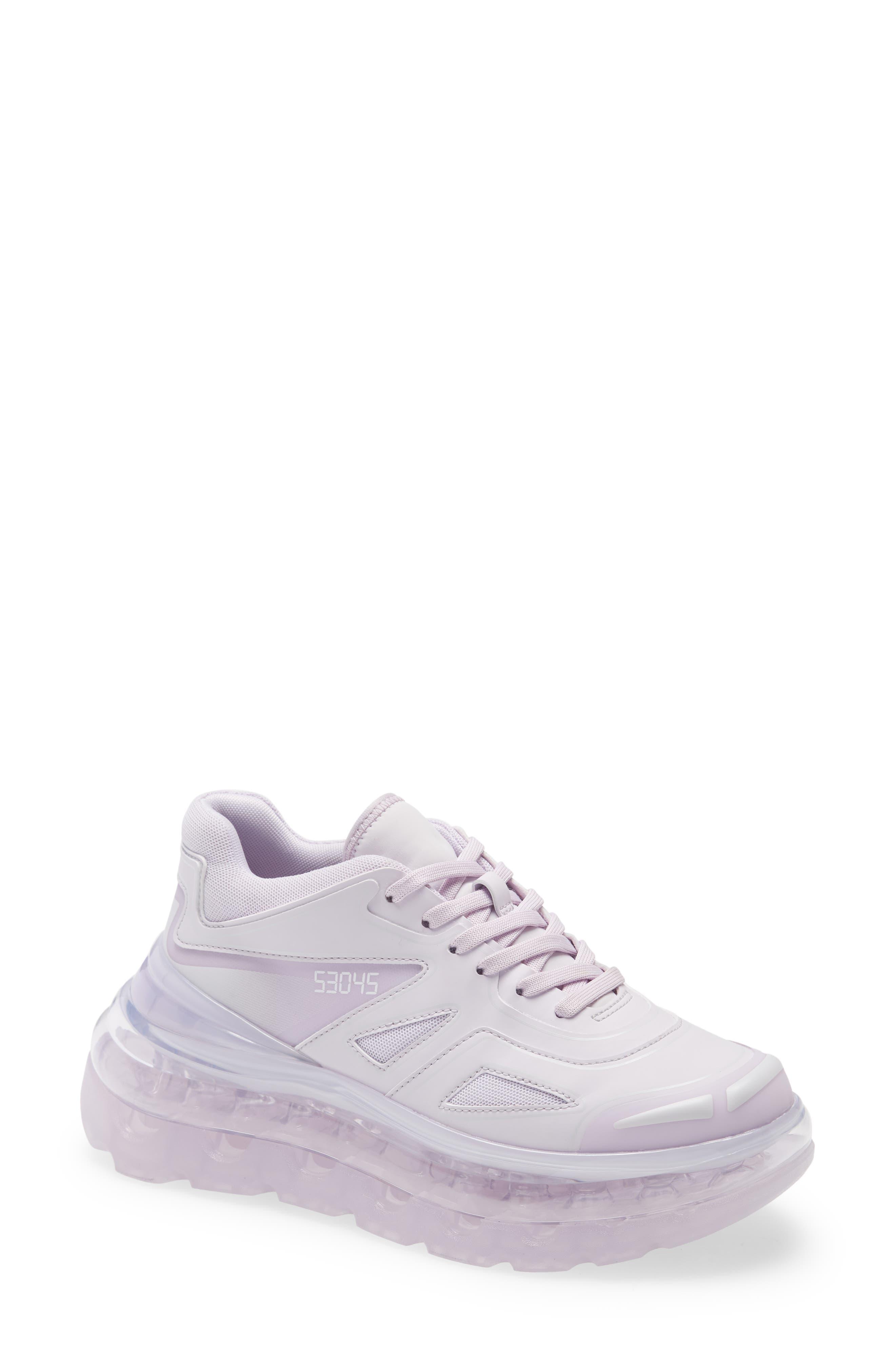 Shoes 53045 Bump'Air Platform Sneaker, Size 12US - Purple (Nordstrom Exclusive)