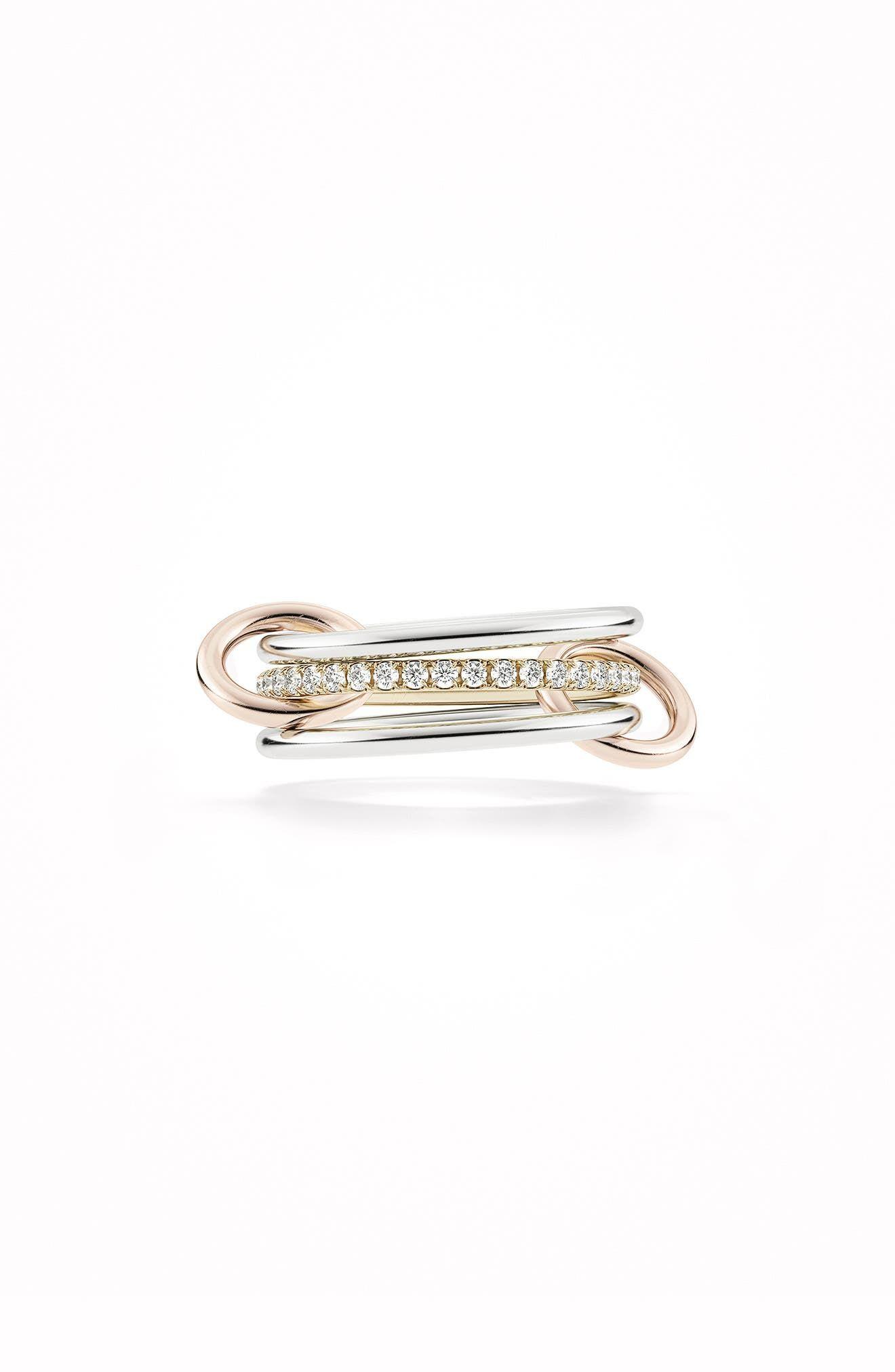 Women's Spinelli Kilcollin Sony Mix Linked Diamond Rings