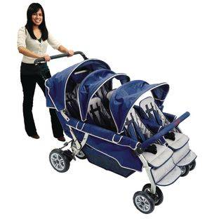 Angeles SureStop Folding Commercial Bye Bye Stroller  6 Seat by Really Good Stuff LLC
