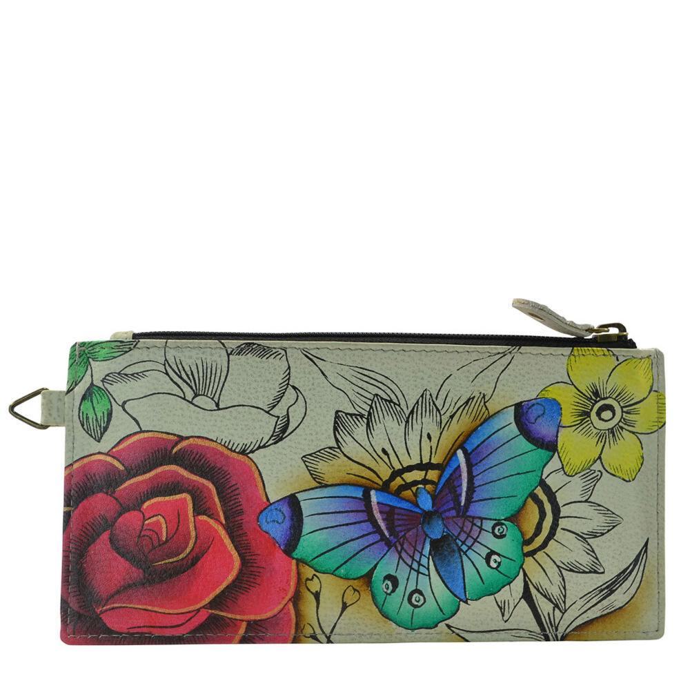 Anna by Anuschka Organizer Wallet Multi Misc Accessories No Size