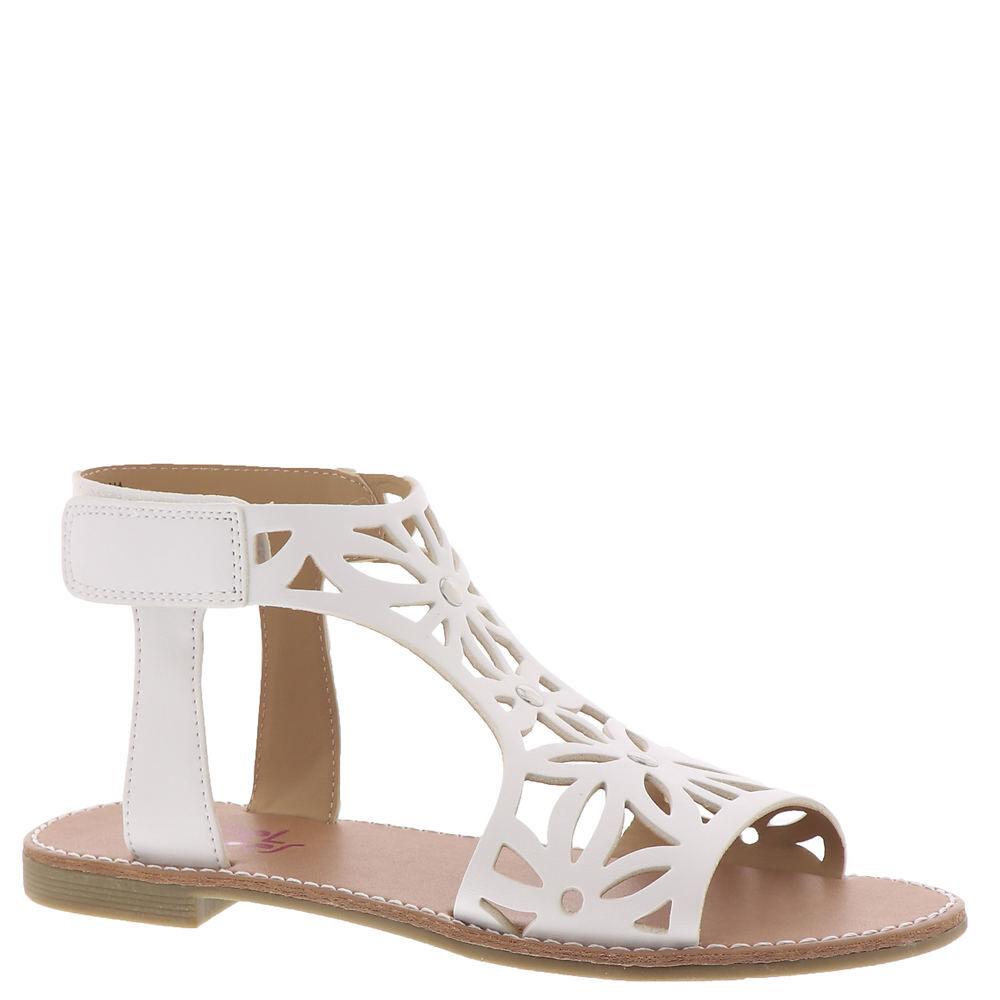 Rachel Shoes Salma Girls' Toddler-Youth White Sandal 3 Youth M