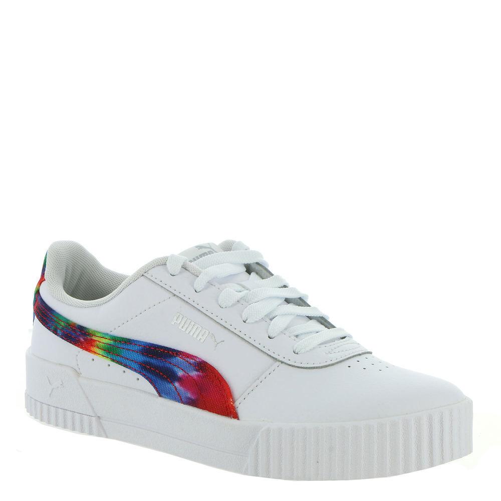 Carina Fashion Tie Dye Women's White Sneaker 6.5 M