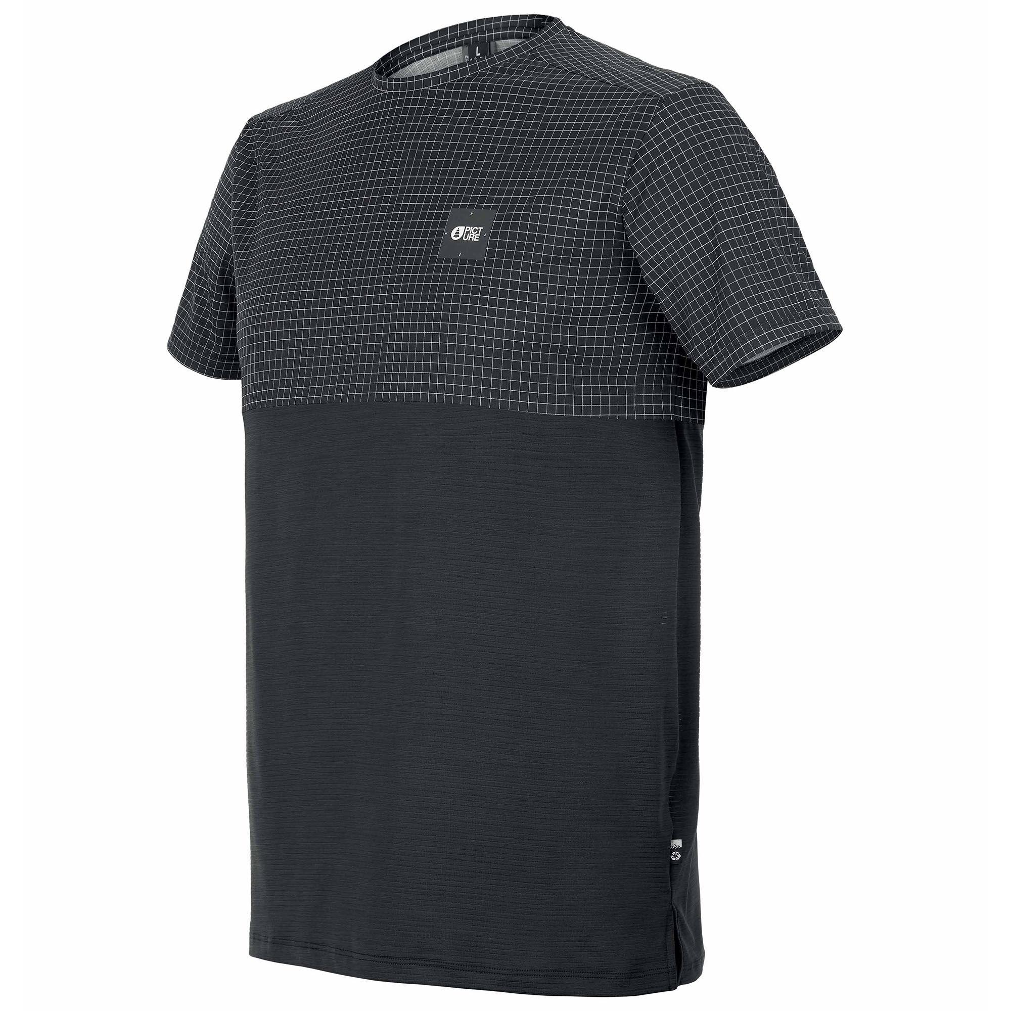 Picture Organic Clothing Men's Rockers T Shirt  - Black - Size: Large