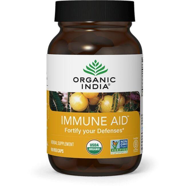 Organic India Immune Aid 90 Veg Caps
