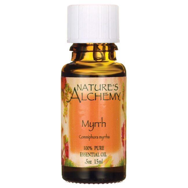 Nature's Alchemy Pure Essential Oil Myrrh 0.5 fl oz Liquid Essential Oils