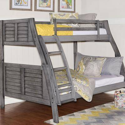 Powell Furniture Easton Bunk Bed by Powell Furniture in Grey