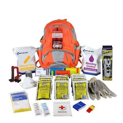 First Aid Only Shelter In Place Emergency Preparedness Backpack by First Aid Only