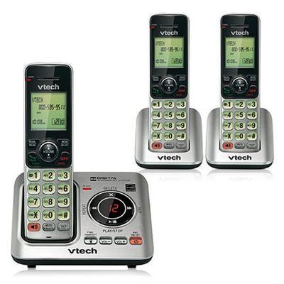 VTech CS6629-3 DECT 6.0 Cordless Phone
