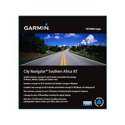 Garmin City Navigator NT Southern Africa Navigational Software (010-11595-00)