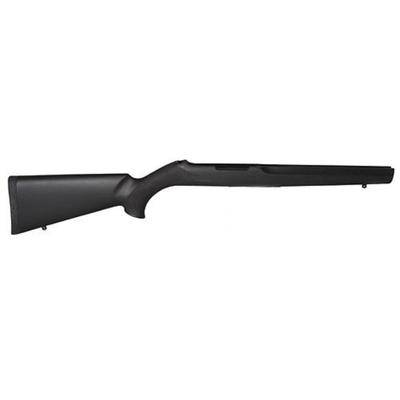 Hogue Nylon OverMolded Rifle Stock Ruger 10/22 Standard Barrel Channel Synthetic Black