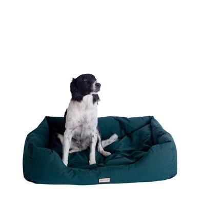 Armarkat Bolstered Dog Bed, Anti-Slip Pet Bed, Laurel Green, Medium by Armarkat in Green