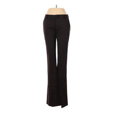 Dell Alessandro Dell'Acqua Wool Pants - Super Low Rise: Brown Bottoms - Size 40
