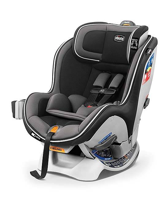 Chicco Car Seats Black/Grey - Black & Gray NextFit Zip Convertible Car Seat