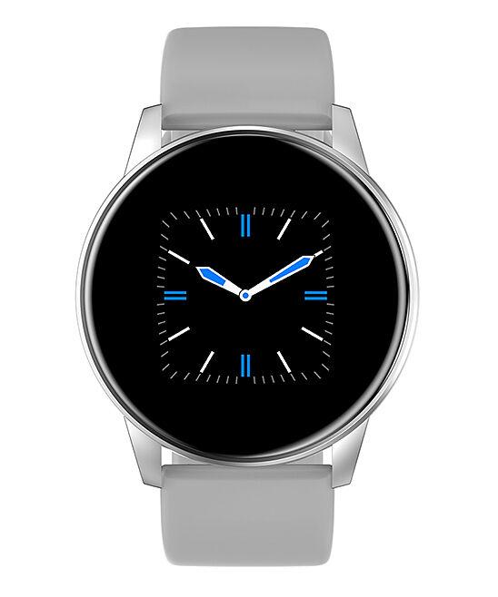 3P Experts Smart Watches White - ChronoWatch Round Smart Watch