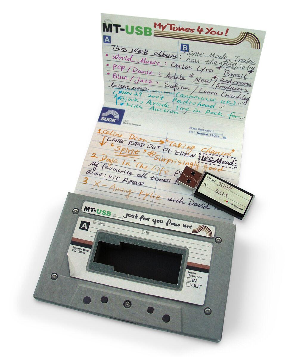 Suck UK Flash Memory Drives - Random Mix Tape USB Stick