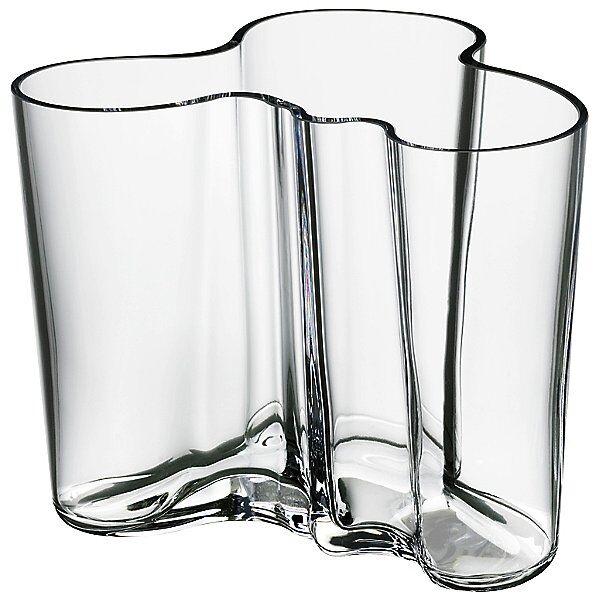 Aalto Vase by Iittala - Color: Clear (1007041)