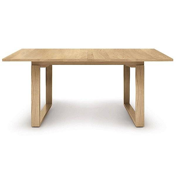 Copeland Furniture Iso Extension Dining Table by Copeland Furniture - Color: Brown - Finish: Oak - (