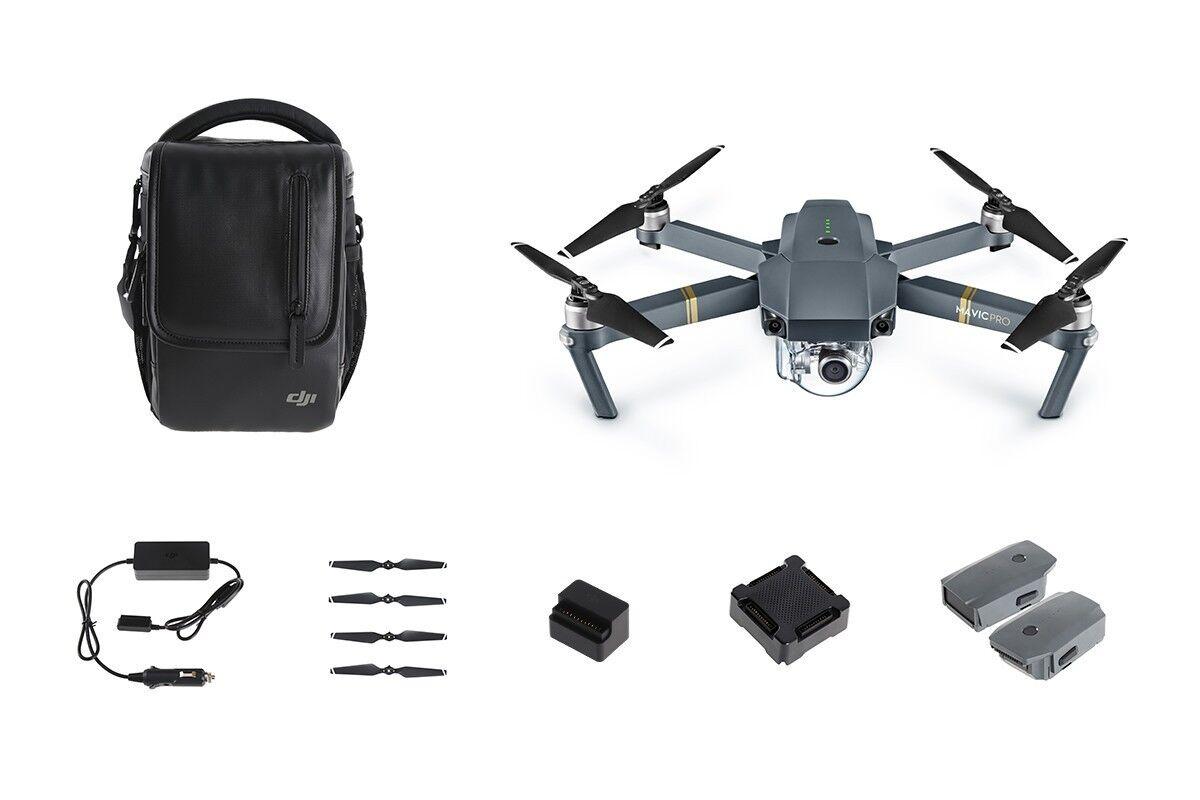 DJI Mavic Pro Fly More Combo Quadcopter with 4K HD Camera (DJI.