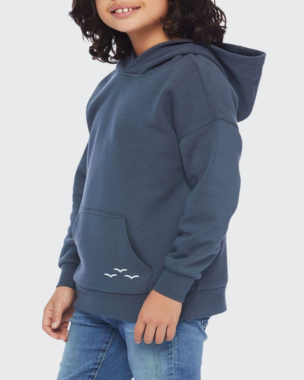 Kid's Cooper Fleece Pullover Hoodie, Size 6-14  - NAVY WASH - NAVY WASH - Size: 10