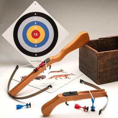 Toy Crossbow With Target By Garrett Wade