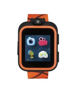 iTouch PlayZoom Smartwatch for Kids Basketball Print 42mm - Girls - Orange - Size: 42mm