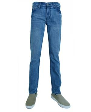 Flypaper Men's Fashion Slim Tapered Jeans Denim - Men - Light Blue - Size: 33x32