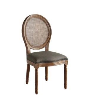 Osp Home Furnishings Stella Oval Back Chair - Brown