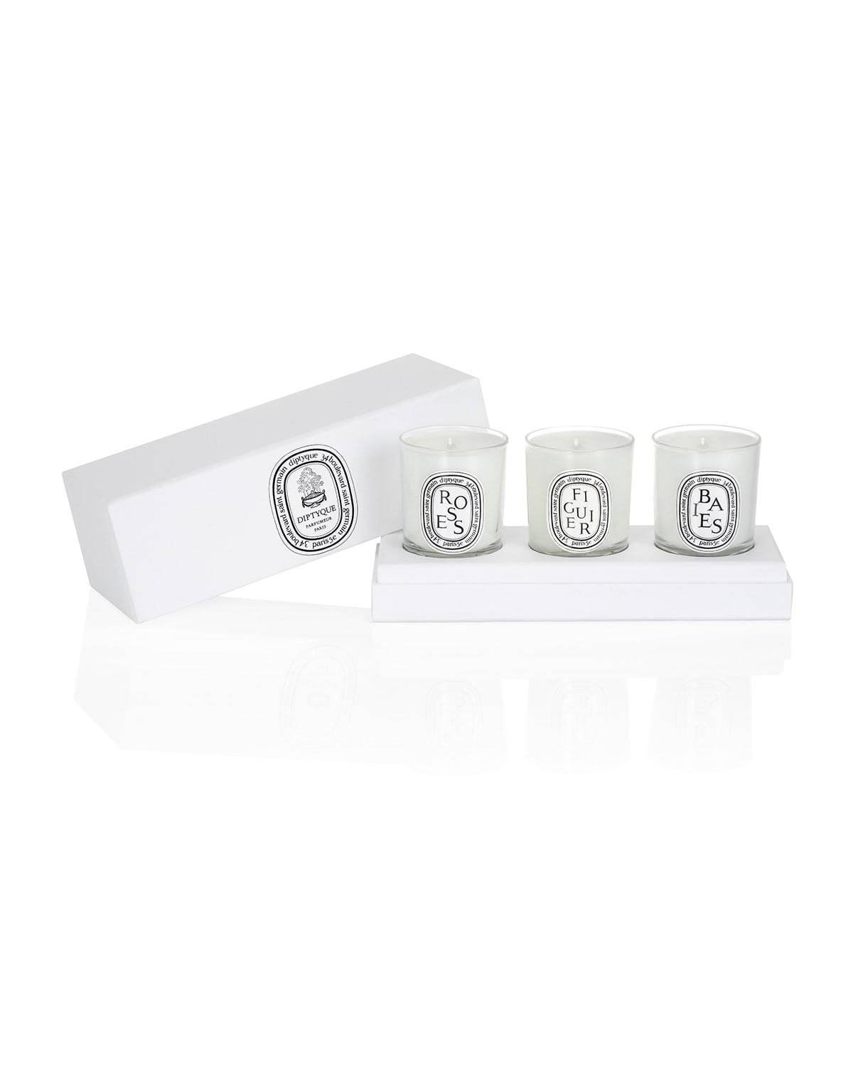 Mini Candle Set - Baies, Figuier, & Roses - UNASSIGNED