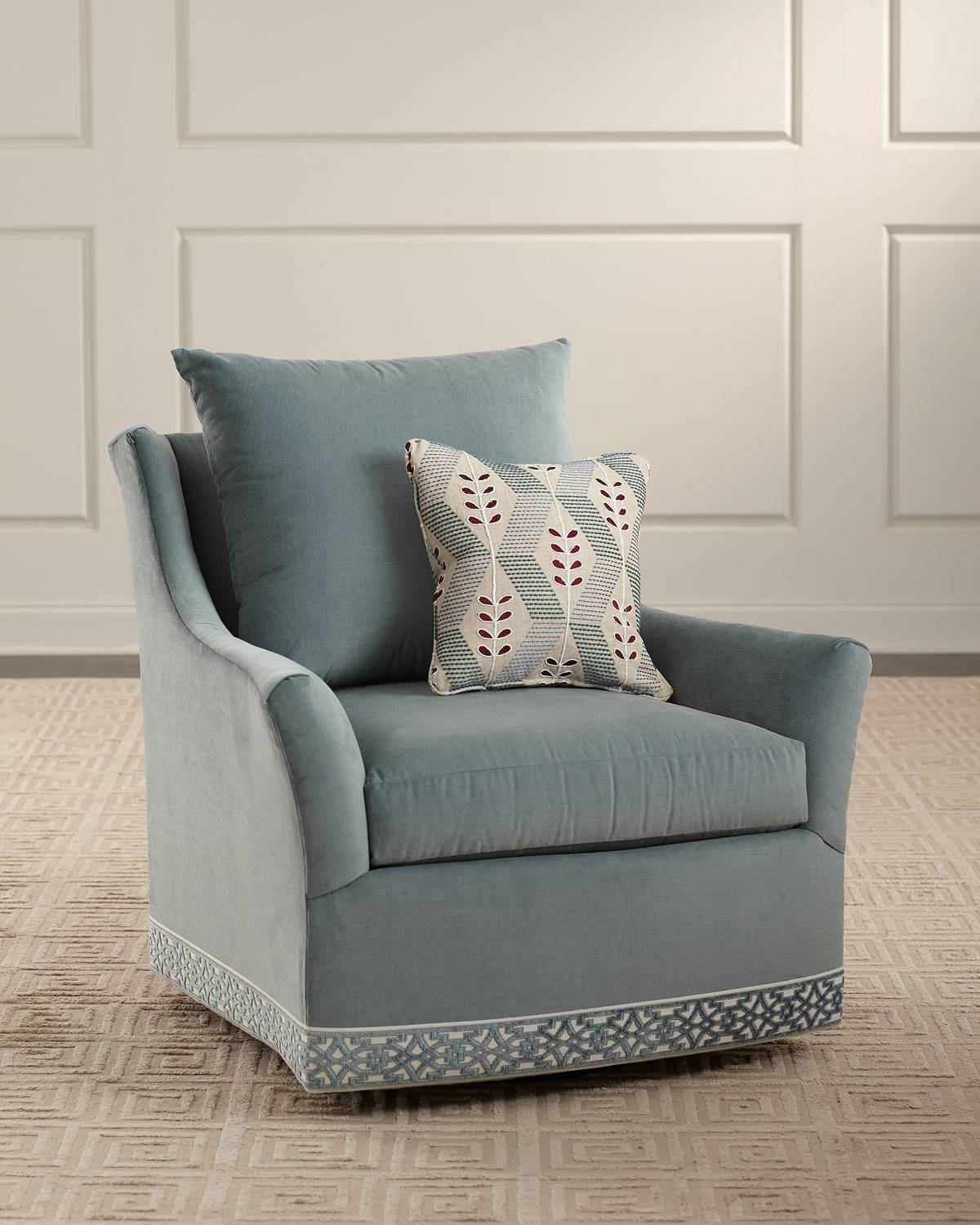 Sweetwater Swivel Chair - Size: unisex