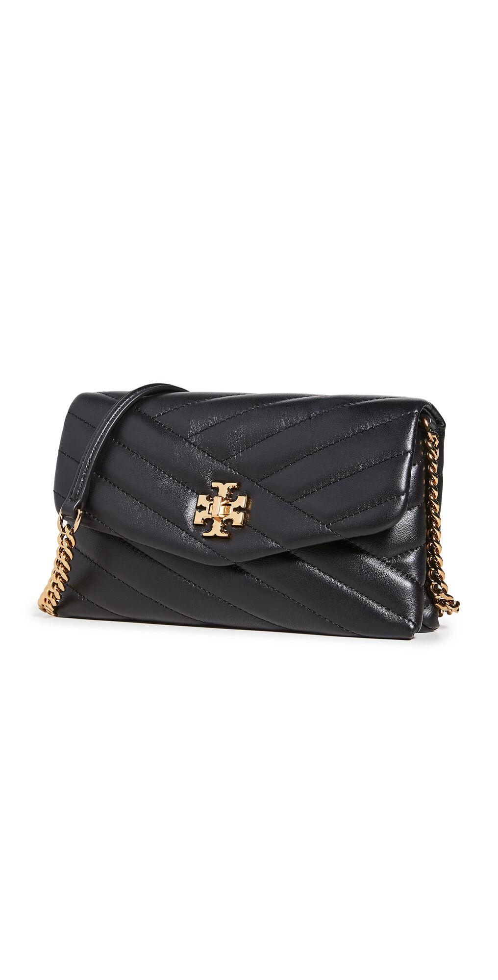 Tory Burch Kira Chevron Chain Wallet Bag  - Size: One Size