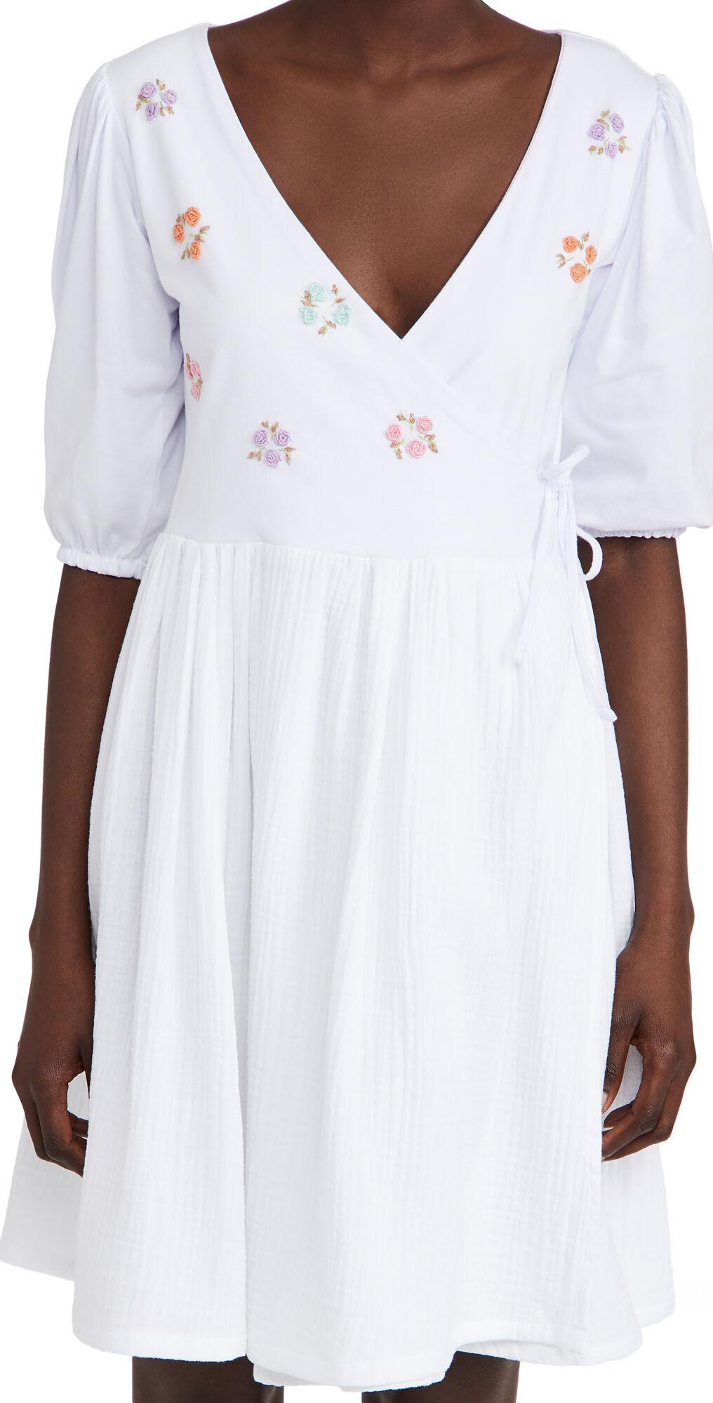 Tach Clothing Felicitas Wrap Dress  - Size: XS