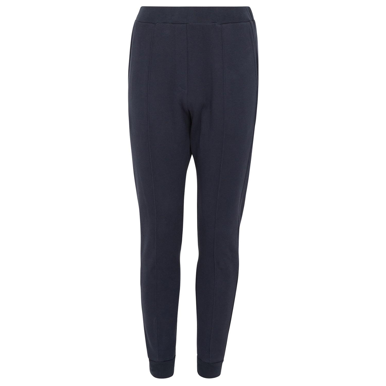 Tress Clothing Men's Navy Blue Cotton Cashmere Jogging Trouser Small Tress Clothing