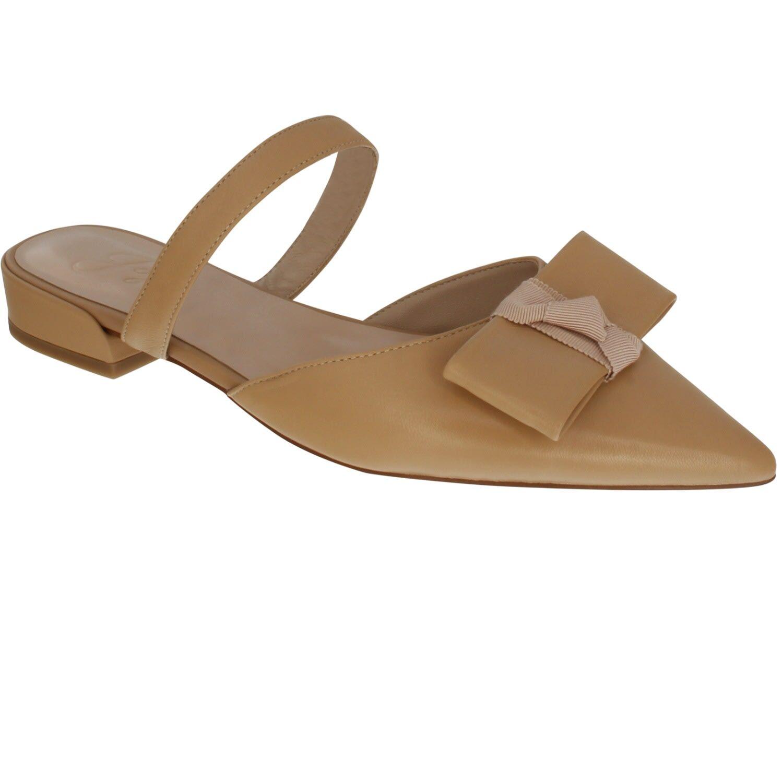 Jojo Shoes Women's Natural Leather Rolake Shoes 2 UK Jojo Shoes