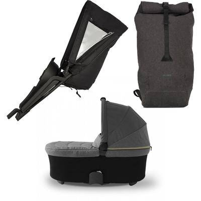Micralite TwoFold Accessory Bundle with Shopping Bag - Carbon
