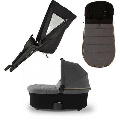 Micralite TwoFold Accessory Bundle with Footmuff - Carbon