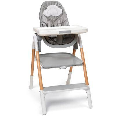 Skip Hop Sit-To-Step High Chair - Grey