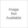 CB2 Horseshoe Ivory Lacquered Linen Side Table by CB2