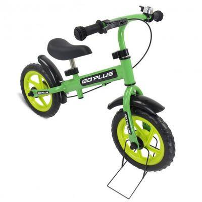 """Costway """"Costway 12"""""""" Three Colors Kids Bike Bicycle with Brakes and Bell-Green"""""""