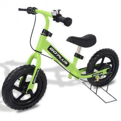 """Costway """"Costway 12"""""""" Four Colors Kids Balance Bike Scooter with Brakes and Bell-Green"""""""