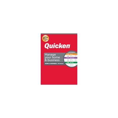 Quicken Home & Business Personal & Home Business Finance Software