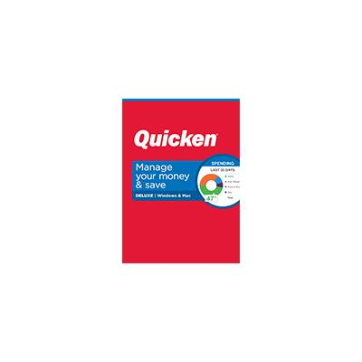 Quicken Deluxe for Mac Personal Finance Software