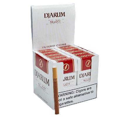 Djarum Smooth Natural Filtered Cigarillo Clove - PACK (120)