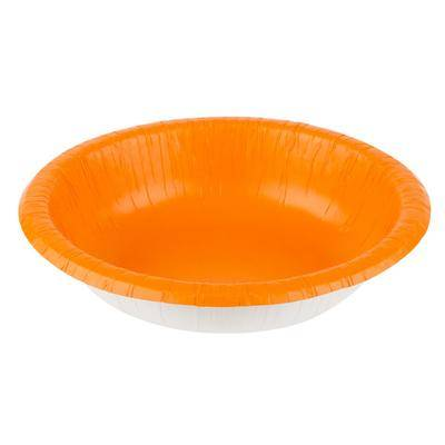Creative Labs Converting 173282 20 oz. Sunkissed Orange Paper Bowl - 200/Case