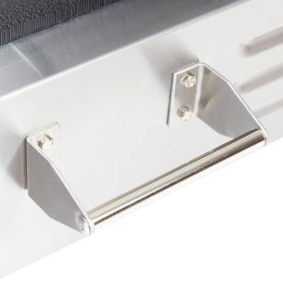 "Globe ""Globe GPG14D Deluxe Sandwich Grill with Grooved Plates - 14"""" x 14"""" Cooking Surface - 120V, 1800W"""