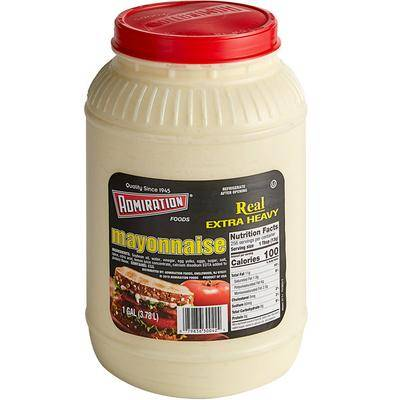 Admiration 1 Gallon Container Extra Heavy Mayonnaise - 4/Case