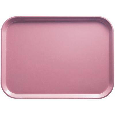 "Cambro ""Cambro 16225409 16 1/2"""" x 22 1/2"""" Rectangular Blush Customizable Fiberglass Camtray - 12/Case"""