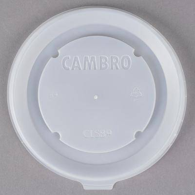 Cambro Disposable Lid fits Cambro MDSB9110 9 oz. Insulated Bowl for Shoreline Meal Delivery Systems - 1000/Case - Cambro CLSB9190